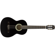 Fender Squier SA-150N Black Full Size Nylon String Classical Acoustic Guita
