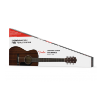 Fender CC-60S Solid Top All Mahogany Concert Acoustic Guitar Pack w/Bag V2