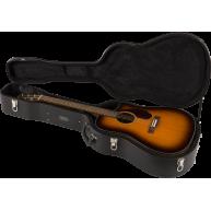 Fender CD-140SCE-SB Sunburst Solid Top Acoustic Electric Guitar with Hard C