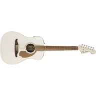 Fender California Series Malibu Player Acoustic Electric Guitar Arctic Gold