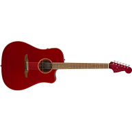 Fender Redondo Classic, Pau Ferro Fingerboard, Hot Rod Red Metallic w/bag -