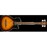 Fender Model FA-450CE Acoustic Electric Bass Guitar, 3-Color Sunburst Finis