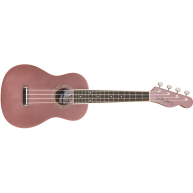 Fender Zuma Concert Ukulele, Walnut Fingerboard, Burgundy Mist Finish