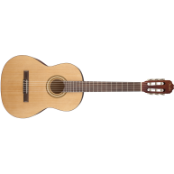 Fender Model FC-1 Classical Nylon String Acoustic Guitar, Natural Gloss FIn