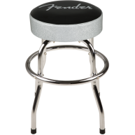 Fender Black and Silver Sparkle 30 Inch Barstool w/Padded Seat #0993001001