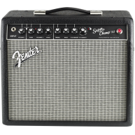 Fender Super Champ X2 Silverface 15 Watt Dual Channel Tube Amplifier, 1x10