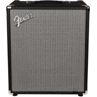 Fender Rumble 100 Watt Bass Guitar Combo Amplifier (V3), 120V, Black/Silver