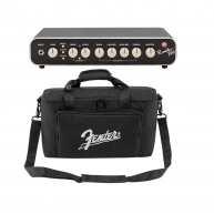 Fender Rumble 800 Watt Mini Bass Amplifier Head with Footswitch and Carryin