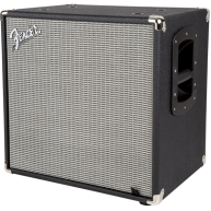 "Fender Rumble 115  1 x 15"" Bass Cabinet Model 2370900000 Black/Silver - DEM"