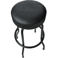 Jackson Guitars Black 30 Inch Deluxe Barstool with Padded Seat 2990500030 -