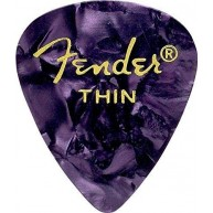 Fender 351 Premium Celluloid Guitar Picks - Purple Moto, THIN 144-Pack (1 G