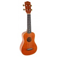 Fender Hermosa Model Natural Light Mahogany Finish Soprano Ukulele
