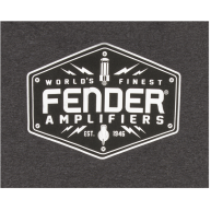 Fender® Bolt Down T-Shirt, Charcoal, XXL MODEL #: 9113019806