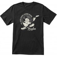 Fender Guitars Recording Machine T-Shirt, Black, Size 2XL - #9123014090