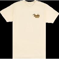Genuine Fender Guitars Acoustasonic Telecaster T-Shirt, Cream Small #919012