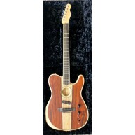 Fender American Acoustasonic Telecaster Limited Cocobolo w/ Case Serial US1