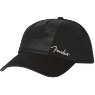 Genuine Fender Canada Maple Leaf Flag Blackout Hat One Size Fits All #91066
