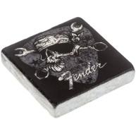 Fender Guitar David Lozeau Travertine Stone Fridge or Cabinet Magnet #91003