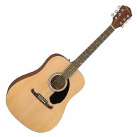 Fender  Model FA-125 Dreadnought Steel Stringed Acoustic Guitar with Gig Ba