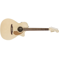Fender Newporter California Series Player Acoustic Electric Guitar Champagn