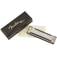 Fender Model Blues Deluxe 10 Hole Major Diatonic Harmonica in the Key of A