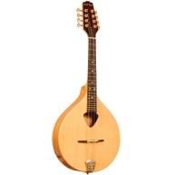 Gold Tone Spruce and Mahogany Traditional Irish Mandola with Hard Case