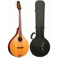 Gold Tone Model OM-800+ 8-String Solid Spruce Top Octave Mandolin with Hard