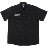 Genuine Gretsch Electromatic Logo Black Men's Workshirt, Size XL #099193970