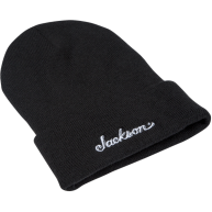 Jackson Guitars Black Stocking Cap Beanie with Embroidered Logo #0995526106