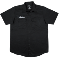 Genuine Jackson Logo Black Men's Workshirt, Size Small #2999578406