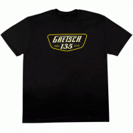 GRETSCH 135TH ANNIVERSARY BLACK TEE SHIRT - Extra Large -# 9221358706