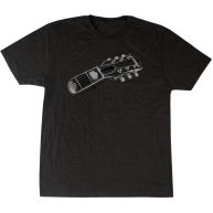 Gretsch Guitars Headstock Graphic Gray T-Shirt - Mens Size Large #922643760
