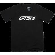 Gretsch Logo Graphic Ladies T-Shirt in Black - Women's Size Medium #9228005