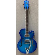 Gretsch G6120T-HR Brian Setzer Signature Hot Rod Hollow Body in Candy Blue