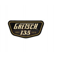 "Gretsch 135th Logo LED Light Up Display Store Sign with Power Supply 17""x6"""