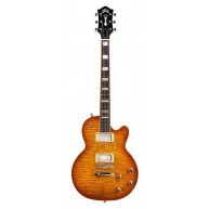 Guild Guitars Bluesbird ITB Ice Tea Burst Electric Guitar with Gig Bag-Blem