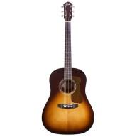 Guild DS-240 Memoir Slope Shoulder Solid Top Guitar in Vintage Sunburst #31