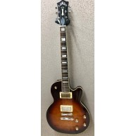 Guild Bluesbird Antique Burst Solid Body Electric Guitar with Deluxe Gig Ba
