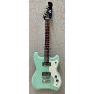 Guild Model S-50 Jetstar Solid Body Electric Guitar Seafoam Green with Gig