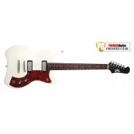 Guild Model S-50 Jetstar Solid Body Electric Guitar Vintage White with Gig