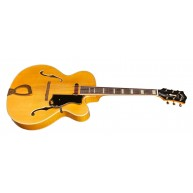 Guild A-150 Savoy Hollowbody Archtop Electric Guitar Blonde Finish -  Blem