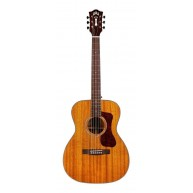 Guild OM-120 All Solid African Mahogany Acoustic Guitar w/ Case - Blem #Q14