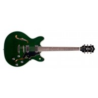 Guild Starfire IV Semi Hollow Emerald Green Electric Guitar + Case - Blem #