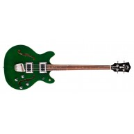 Guild Starfire II Electric 4-String Bass Guitar in Emerald Green w/ Deluxe