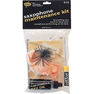 Herco HE108 Saxophone Care Kit - Contains Swab, Key Oil, Cork Grease and Mo