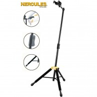 Hercules Model GS415B Tripod Single Guitar Stand-Auto Grip System & Folding