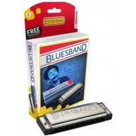 Hohner Bluesband Diatonic Harmonica in the Key of C #1501/BX