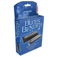 Hohner Blues Bender Diatonic Harmonica in Key of Bb MODEL BBBX-Bb - B FLAT