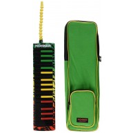 Hohner Airboard 32 RASTA Melodica - 32 Key Keyboard Air Powered Instrument