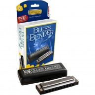 Hohner Blues Bender Diatonic Harmonica in Key of F MODEL BBBX-F